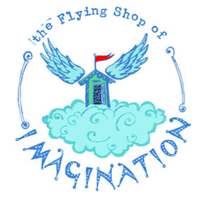 the flying shop of imagination logo